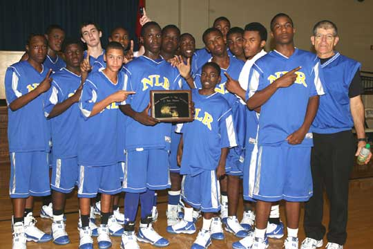 Bryant Invitational champs, the North Little Rock Charging Wildcats. (Photo by Rick Nation)