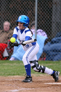 Paige Turpin was in the middle of both of Bryant's big innings.