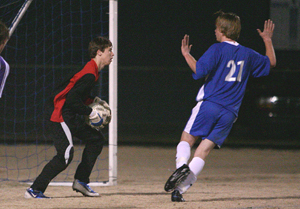 Keeper Devin Norris and defender Tim Ezel, 21, are among those returning for Bryant's 2009 season.
