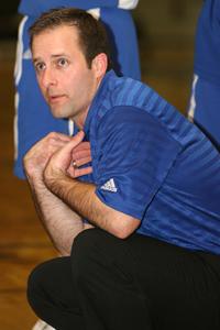 Bryant Lady Hornets coach Blake Condley