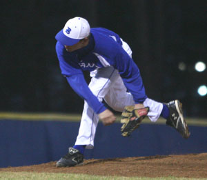 Tyler Sawyer worked five innings to pick up the win for the Hornets at Van Buren on Saturday.