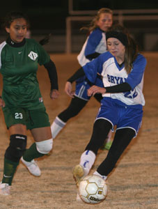 Lindsai Arceneaux had three goals for the Bryant Lady Hornets against Van Buren.