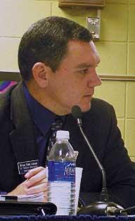 Dr. Richard Abernathy, Superintendent of Bryant Schools.