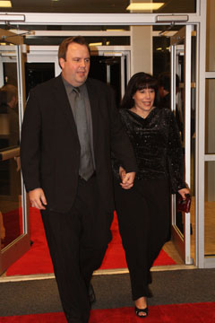 Saline County Prosecuting Attorney Ken Casady, with wife Stephanie, was one of many local government officials who turned out to support the Boys and Girls Club of Bryant at the Starlight Gala. (PHOTO BY Charlie Hunnicutt)