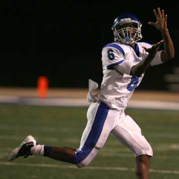 K.J. Hill had six receptions for 117 yards and a touchdown. (Photo by Rick Nation)