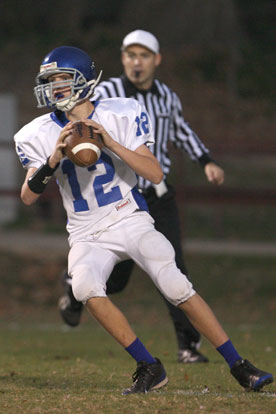 Bryant White quarterback Beaux Bonvillain. (Photo by Rick Nation)