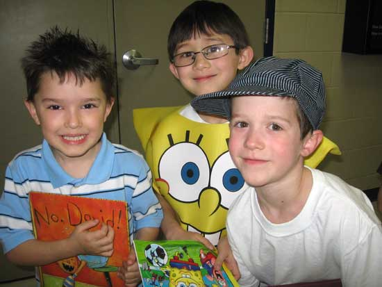 Jayme Roach, Corwin Martin and Sean Morris.