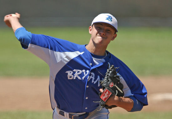 Tyler Nelson allowed just two hits. (Photo by Rick Nation)
