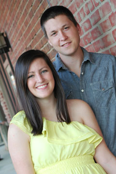 Kristen Dorsey and Tyler Burleson
