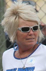 Head coach Debbie Clark