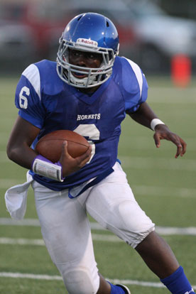 Phillip Isom-Green rushed for 102 yards on 19 carries Thursday. (Photo by Rick Nation)