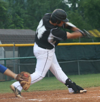 Cody Gogus came through with a clutch hit to drive in two runs.