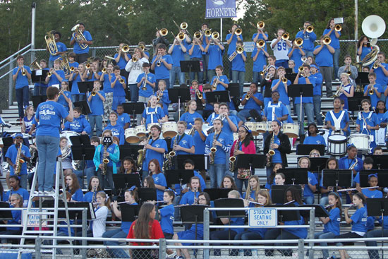 The Bryant Middle School eighth grade band. (Photo by Rick Nation)