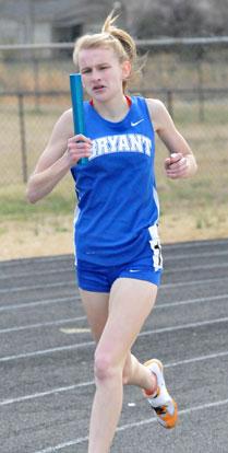 Senior Hannah Raney (Photo by Kevin Nagle)
