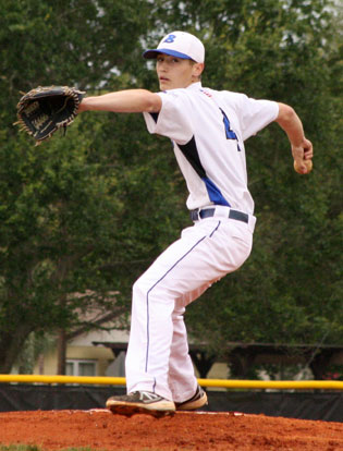 Harrison Dale pitched six innings of shutout ball. (Photo by J'Ann Boyd Lessenberry)