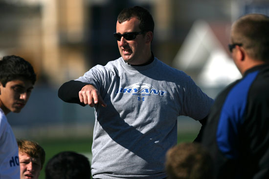 Bryant head coach Jason Hay (Photo by Rick Nation)