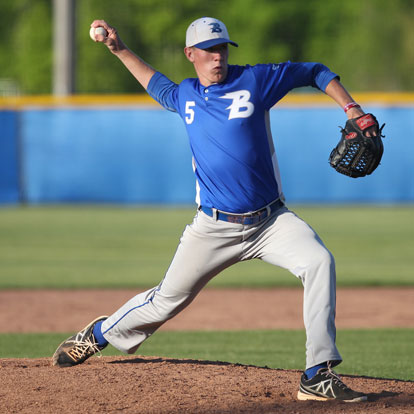Nate Rutherford fired a five-hit shutout. (Photo by Rick Nation)