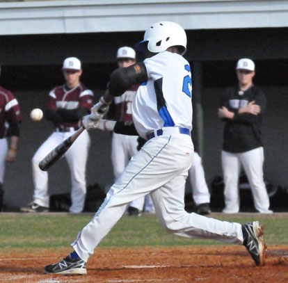 Marcus Wilson had four hits against Camden Fairview Saturday.