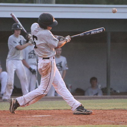 Harrison Dale had two hits in Monday's nightcap. (Photo by Rick Nation)