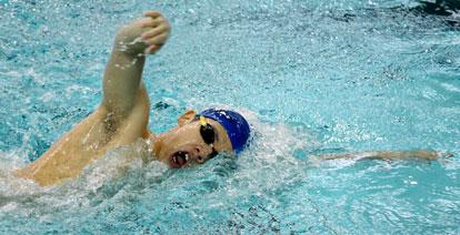 Minki Kang won two individual freestyle events. (Photo courtesy of Jamie Hester)