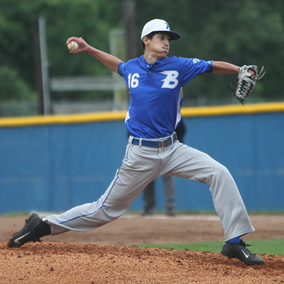 Blaine Knight tossed a four-hit shutout. (Photo by Rick Nation)