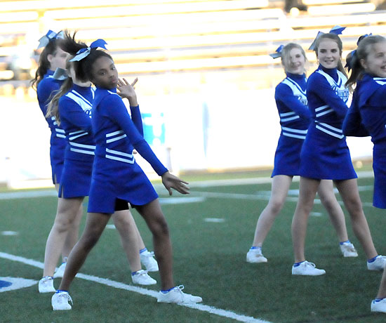 Performed at halftime of tuesday's game against pulaski heights