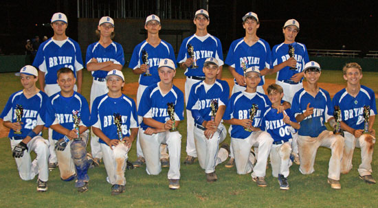 Bryant 14's tune up for State tourney with title at Sylvan