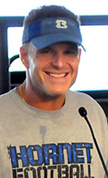 Bryant coach Paul Calley