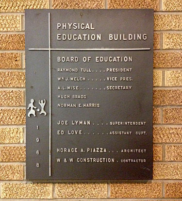 GymPlaque