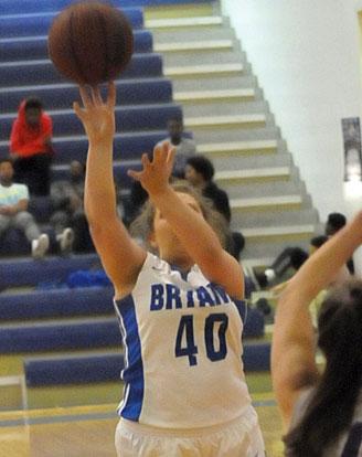 Morgan Walters fires a jump shot. (Photo by Kevin Nagle)