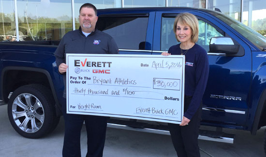 Everett Buick Gmc >> Donation From Everett Buick Gmc To Upgrade Bhs Weight Room Bryant