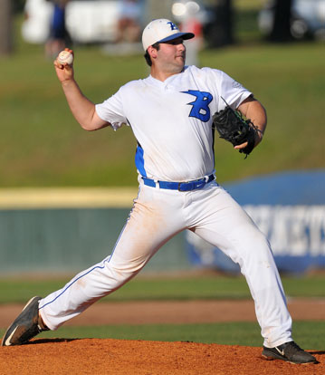 "Zach ""Panda"" Jackson fired a four-hit shutout. (Photo by Kevin Nagle)"