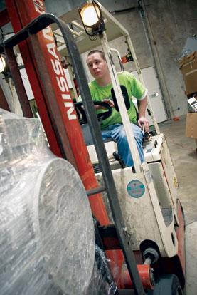 Forklift-photo